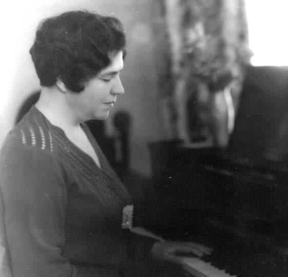 Elizabeth Garrett, blind musician composer