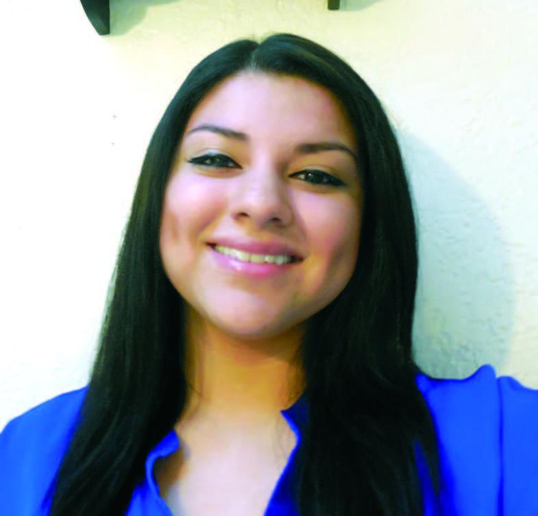Student editor, Isabel Hernandez