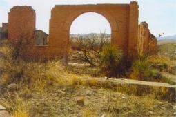 Courthouse ruins, Hillsboro, New Mexico