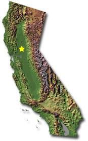 california topographic icon