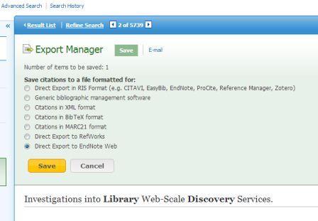 ebsco endnote screenshot