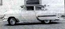 1954 Bel Air with exterior sun visor.