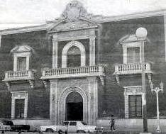 Juárez city hall where divorces were granted in the late 1940's.