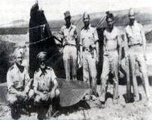 The Southern Liaison Patrol ground team who located wreckage and pilots along the border during WWII.