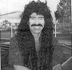 Disc jockey Steve Crosno.