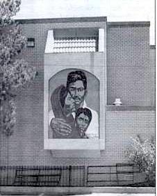 La Fe Clinic mural