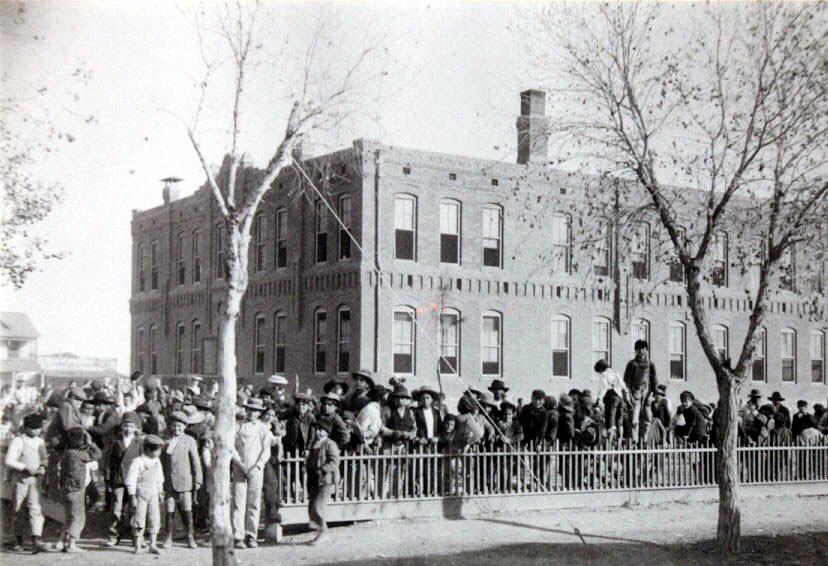 Aoy Elementary school, 1909 El Paso