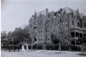 Hotel Dieu Hospital, El Paso, 1909