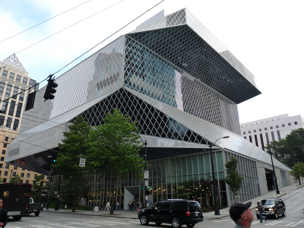 Rem Koolhaus' Seattle Public Library