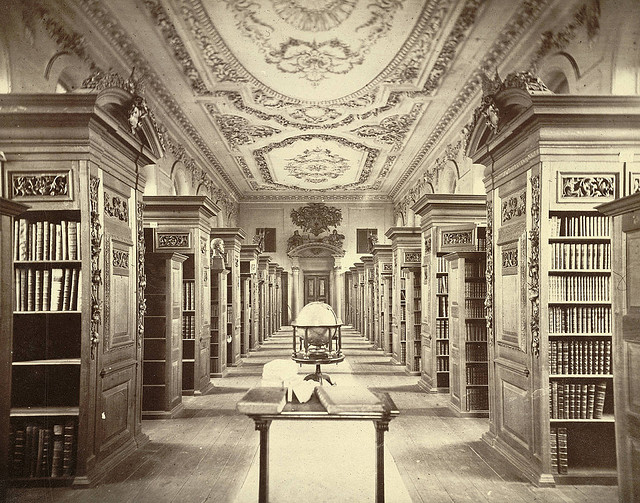 King's College Library, 1865