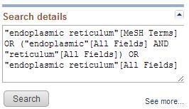 endplastic reticulum search