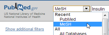 MeSH dropdown