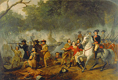 George Washington as Captain in the French and Indian War