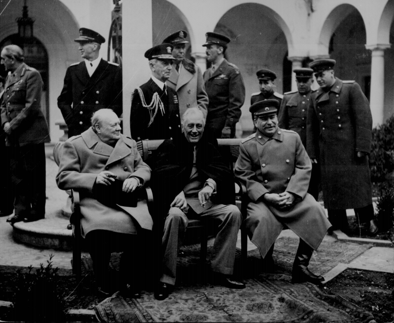 Conference of the Big Three at Yalta