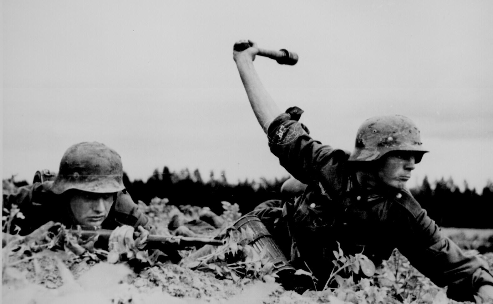 German Troops in Russia