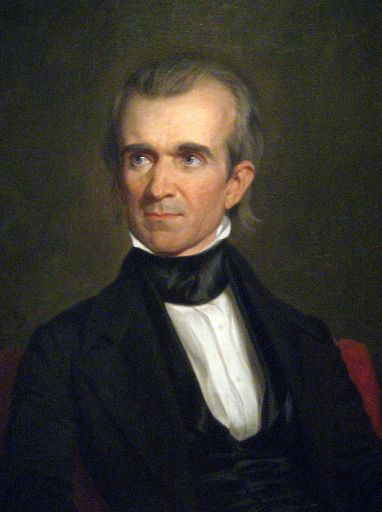 James K. Polk - George Peter Alexander Healy