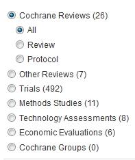 Cochrane - results