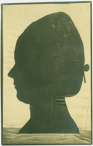 Silhouette of Sarah Logan  Fisher Wister