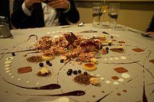 Alinea Restaurant dessert table