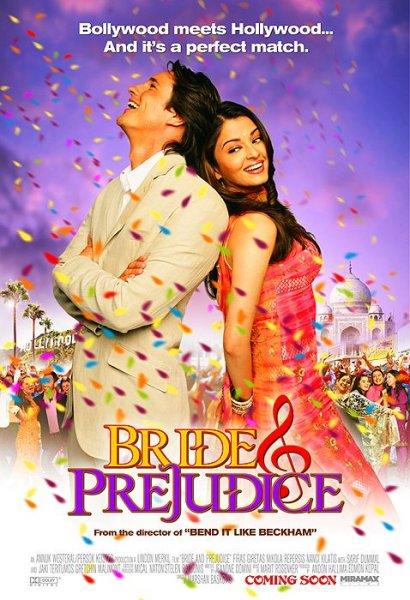 Bride and prejudice movie poster