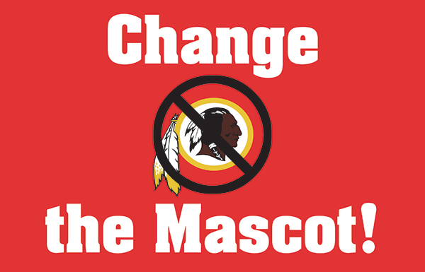 change the mascot sign