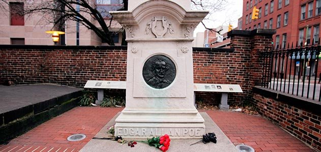 E.A. Poe gravesite, Baltimore, Maryland