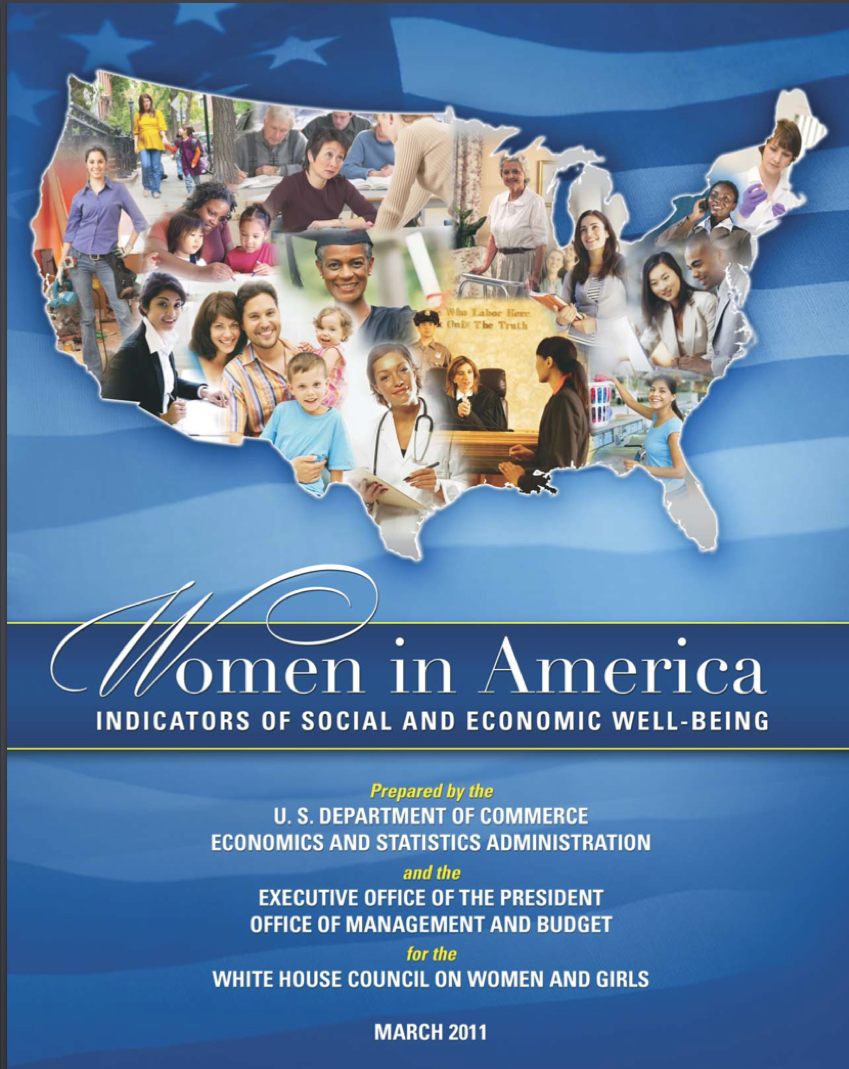 Women in America report cover