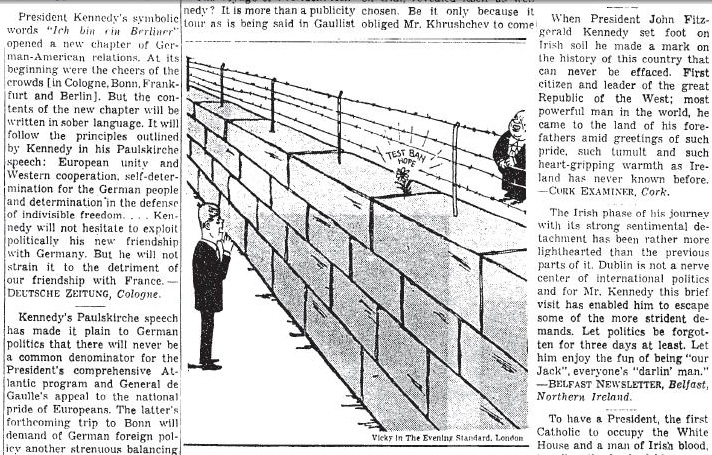 Kennedy Political cartoon