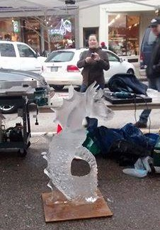 Downtown Holland Ice Carving Competition 2014