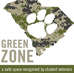 Green Zone Image-trained to support veteran students, faculty and staff