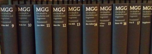 Det tyske musikleksikon MGG