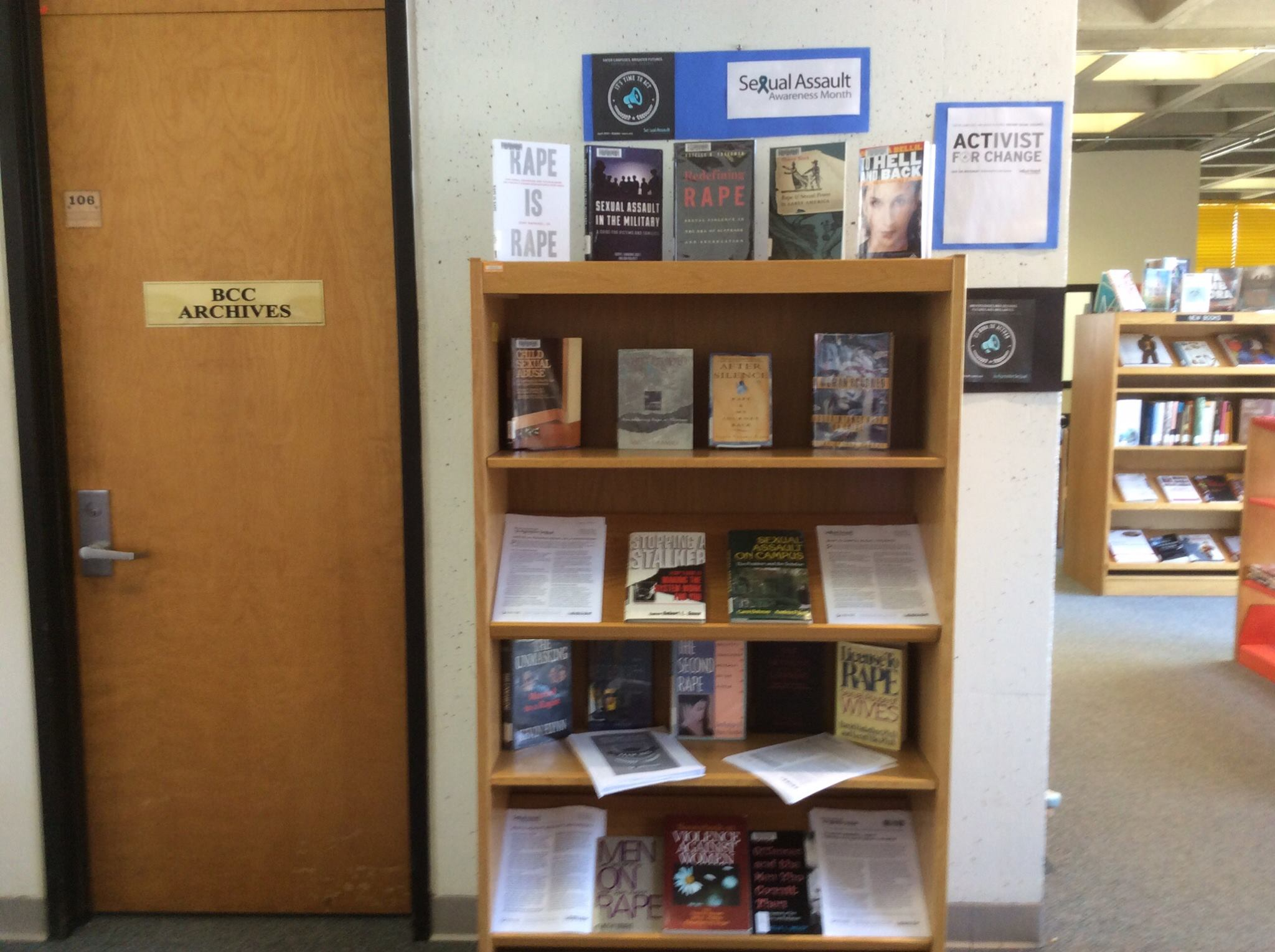 Book display in Library