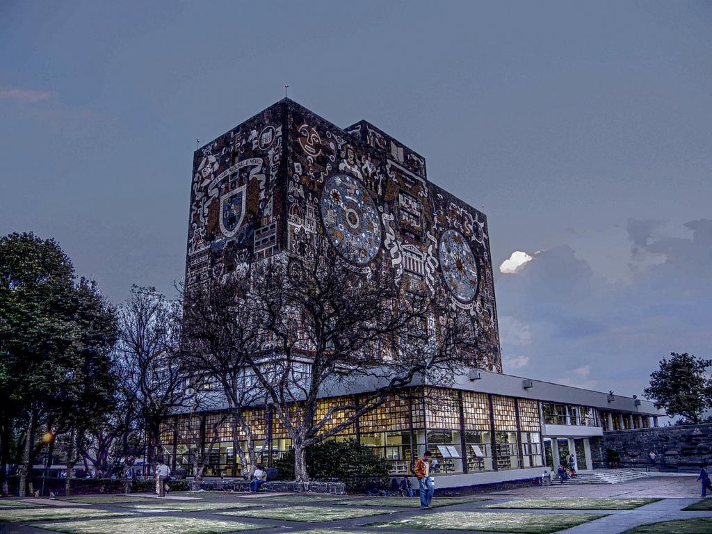 Main Library, Universidad Nacional Autónoma de México