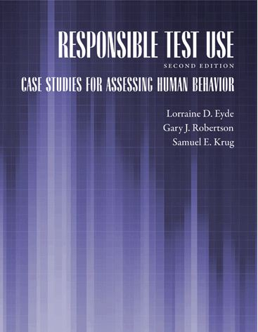 book cover , responsible test use