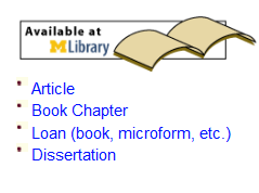Image of Interlibrary Loan web page