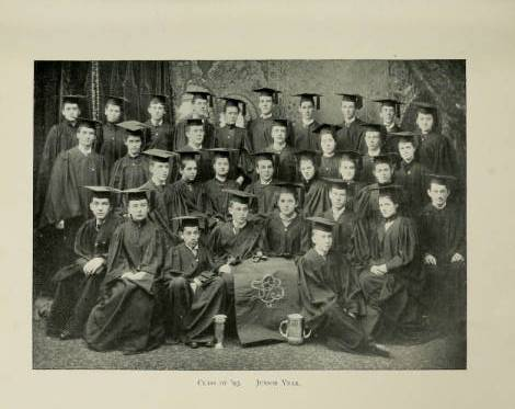 Junior class of 1893