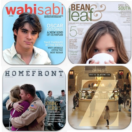 iPad Magazines designed by prior 456 students!