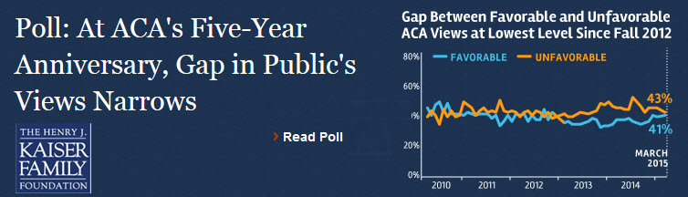 Poll about ACA public opinion