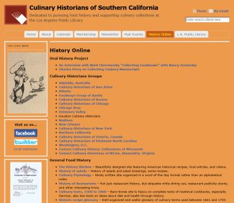 Culinary Historians of Southern California