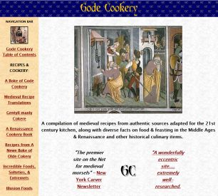 gode cookery homepage