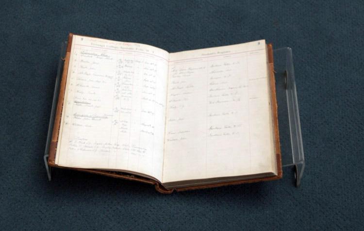 Item 1: Student Register Ledger, 1887 – 1905