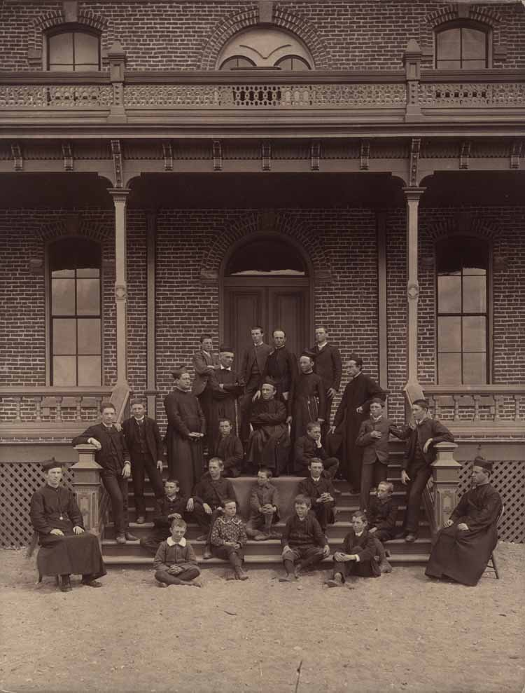 Item 2: Gonzaga's First Group of Students and Faculty, Spring 1888