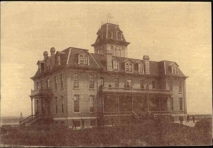 Item 4: Original College Building, around 1889