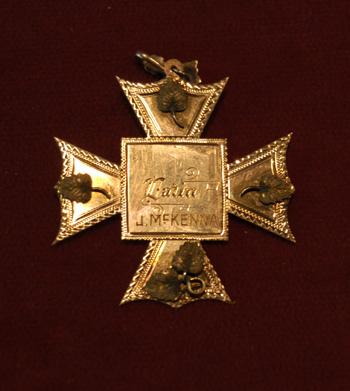 part1/2: Item 6: Joseph McKenna's Medals, 1892 and 1897