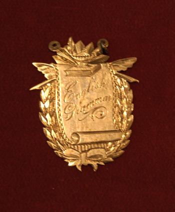 part 2/2 Item 6: Joseph McKenna's Medals, 1892 and 1897