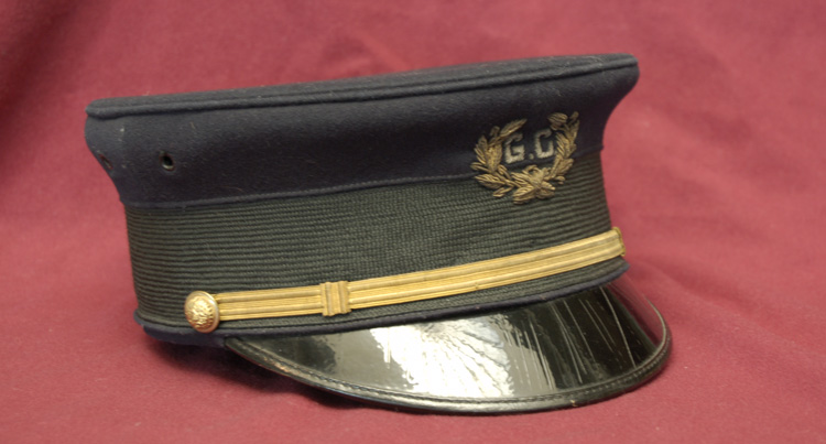Item 9: Cadet Corp Hat worn by Walter Tuchscherer, Class of 1907
