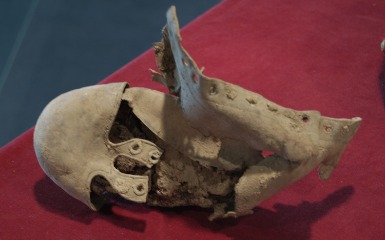 Item 11: Cleated Football Shoe, no date