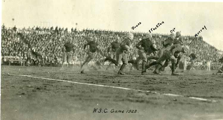Item 16: Gonzaga vs. Washington State College, 1923