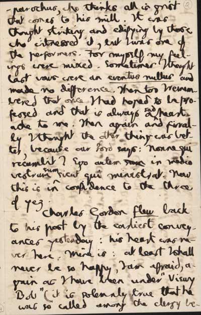 2/6 Autograph letter to Jesuit friends, 17 August 1882