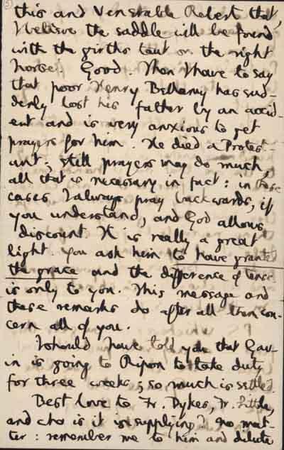 4//6 Autograph letter to Jesuit friends, 17 August 1882